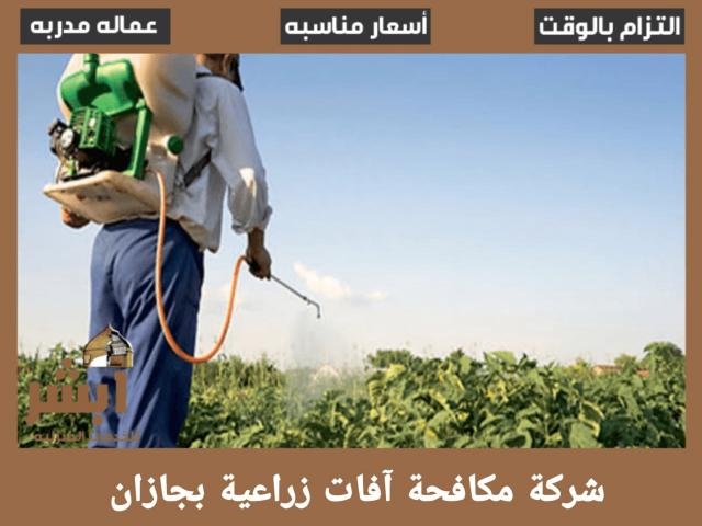 شركة مكافحة آفات زراعية بجازان